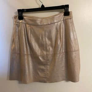 Cute/Comfy Gold Skirt